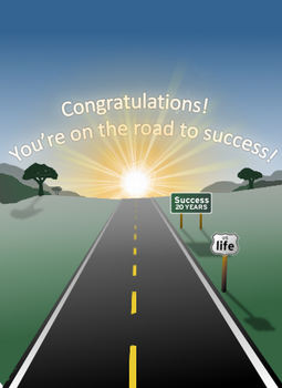 Highway To Success by KEKInc