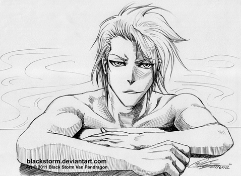 TOUSHIRO: Care to join me for a swim? by blackstorm
