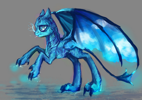 MLP pony dragon auction 4 CLOSED by ElkaArt