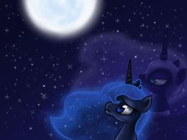 The Moon Rises by MsLilly