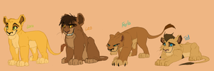 Royal Cubs by Elennaaa