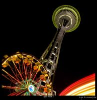 Space Needle 2 by Krannichfeld