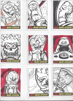 Mars Attacks! Sketch Cards #9 by mikehampton