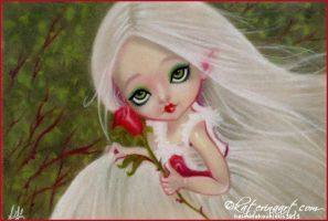 Little Gothic Beauty by Katerina-Art