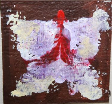 butterfly painting by MiauTzu
