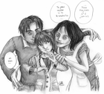 Coraline's other family by cam-miyu