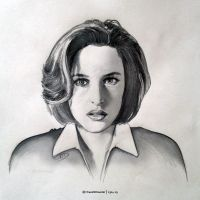 X-Files tribute - Scully by ChaosNDisaster