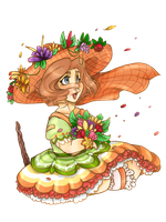 -:AT:- BreeAnn, the Lovely Girl of Flowers by Vilshanka