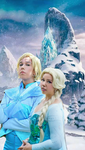 King Elson and Queen Elsa by Nessa-Hime