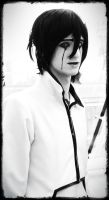 Ulquiorra in monochrome by surlycat
