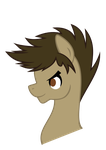 Face Profile: 10th Doctor by horserida238