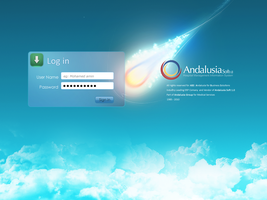 AHBS System Login Page by mohamed-amin