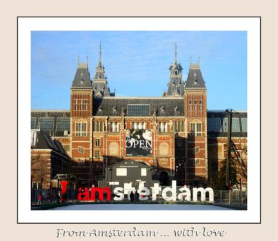 From Amsterdam ... with Love by narcotistu