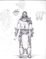 Orc War-Chief-ish Armor Plans by Armenoc
