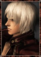Portrait Dante DMC3 by Arivain-Shadowflare