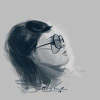 Girl Sketch +02 by ducklin-th