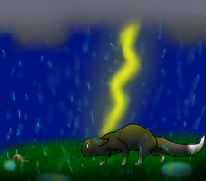 Hunting on a Stormy Night (Remake) by Ryla26