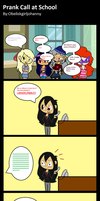 Equestria Girls: Prank Call at School 13 by Obeliskgirljohanny