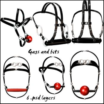 Fetish - Gags and Bits pack by WitsResources