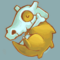 Cubone by hisako