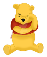 Winnie The Pooh - colored by Rob-lightning