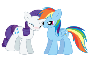 SiM: Rainbow + Rarity by Selective-Yellow