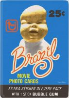 Brazil Trading Card Wax Pack by Hartter