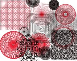 Various Pattern PS Brushes by manoluv