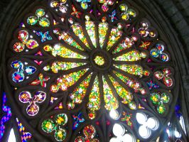 Stained Glass Window by Malakhite