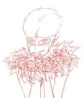 Flowers - Kid Flash by Whimsic-Dreamer
