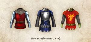 Armor set for browser game by Vadich