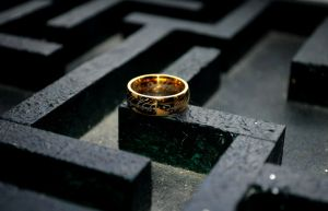One Ring To Rule The Maze by Forestina-Fotos