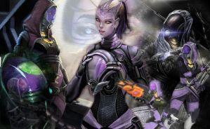 Tali zorah wallpaper by SirShepard