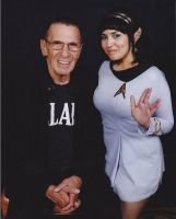 Leonard Freakin' Nimoy by PiratePincushion