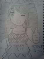My OC Lucy ~Enjoy Summer~ nee? by shannonILY2