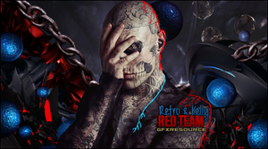 Red Team Collab by KellyGFX