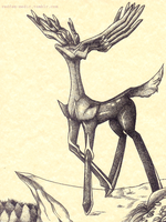 Xerneas by THESHADOWVOCALOIDFAN