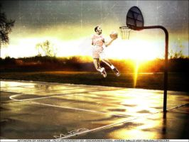 Michael Jordan Street Court by austin671