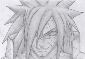 Uchiha Madara by Bgflegz