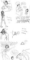 Bartimaeus Trilogy sketchdump by CrazyRatty