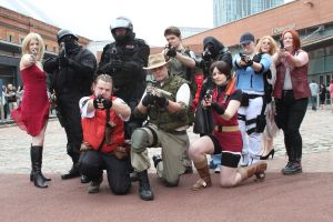 Resident Evil Group 2 - MCM Expo by x-Montsegur-x