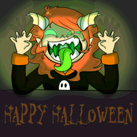 Glowy-halloween-header by Red-Hime
