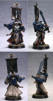 Librarian, 4th Company, 1st Legion DA by Elmo9141