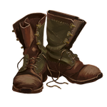 Boots: art for the computer game by XGingerWR