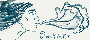 Wind southwest by Lucius007