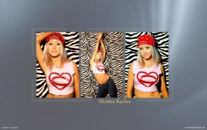 Christina Aguilera Wallpaper by mZoleee