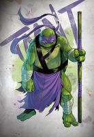 Tmnt Donatello by Coliandre