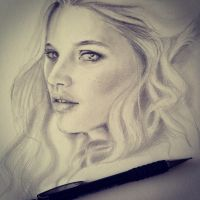 Elf pencil drawing by farooky