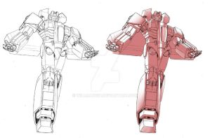 idw starscream line and shades by beamer