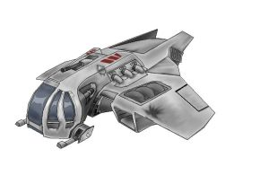 Eagle class starfighter by Archon171